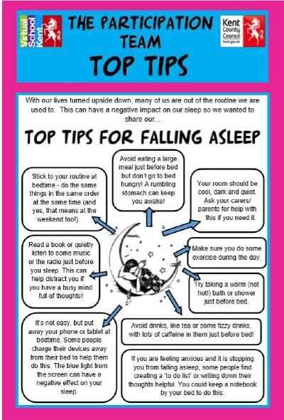 Top Tips for Falling Asleep
