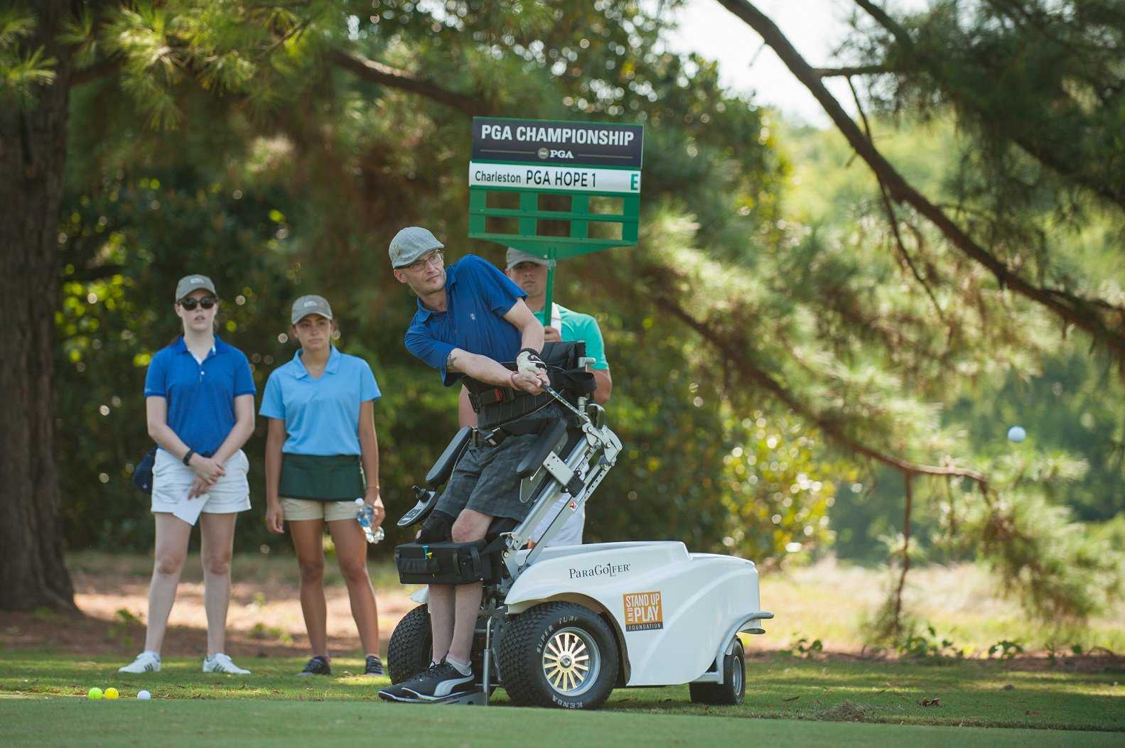 Veterans celebrate PGA HOPE's theme of healing as the Second Annual Secretary's Cup visits Charlotte Country Club