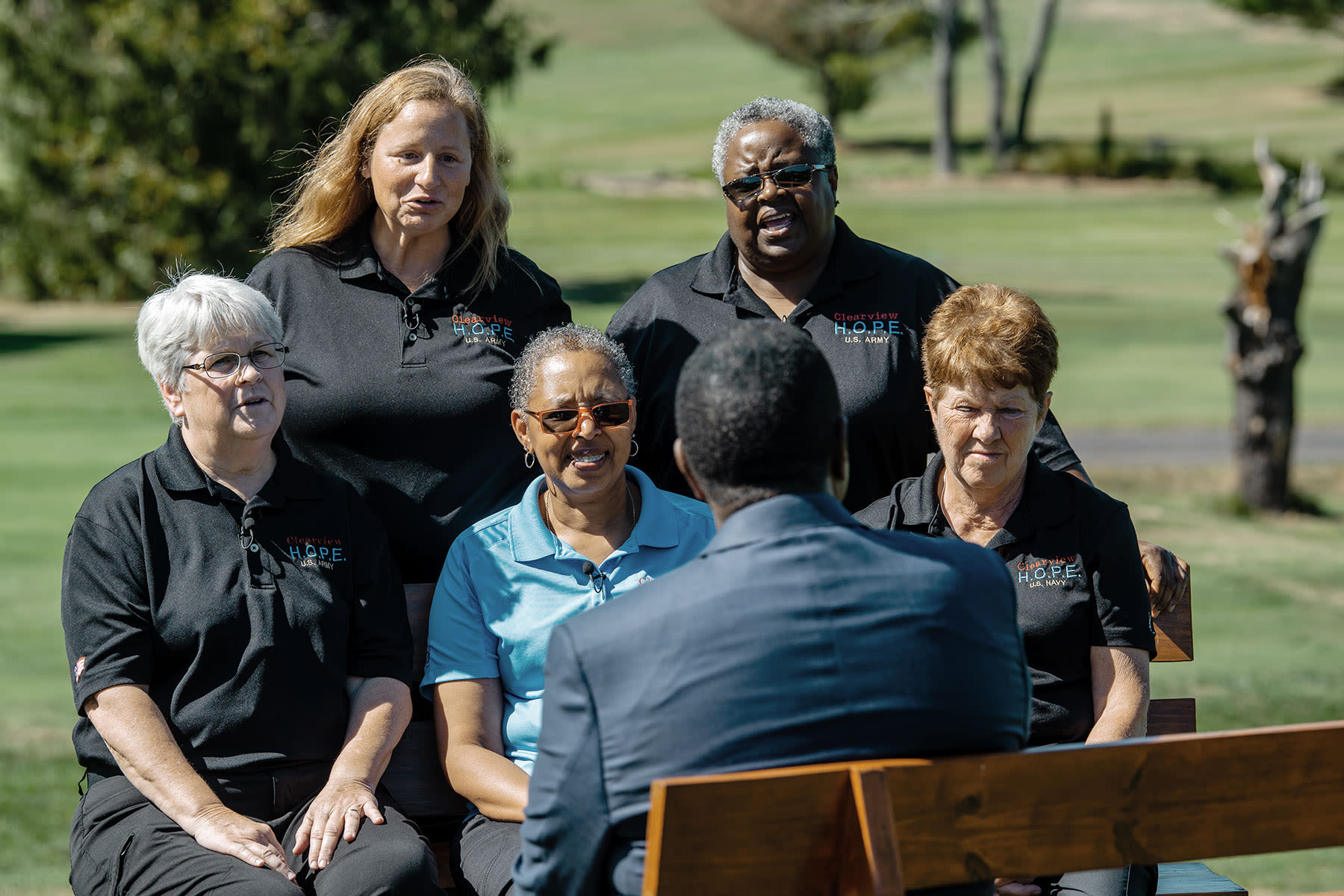 Veterans of Clearview HOPE find solace, journey of a lifetime with golf