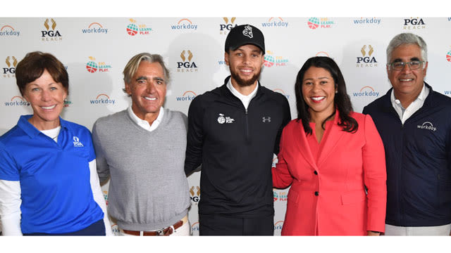 Inaugural Stephen Curry Charity Classic presented by Workday tees off at TPC Harding Park