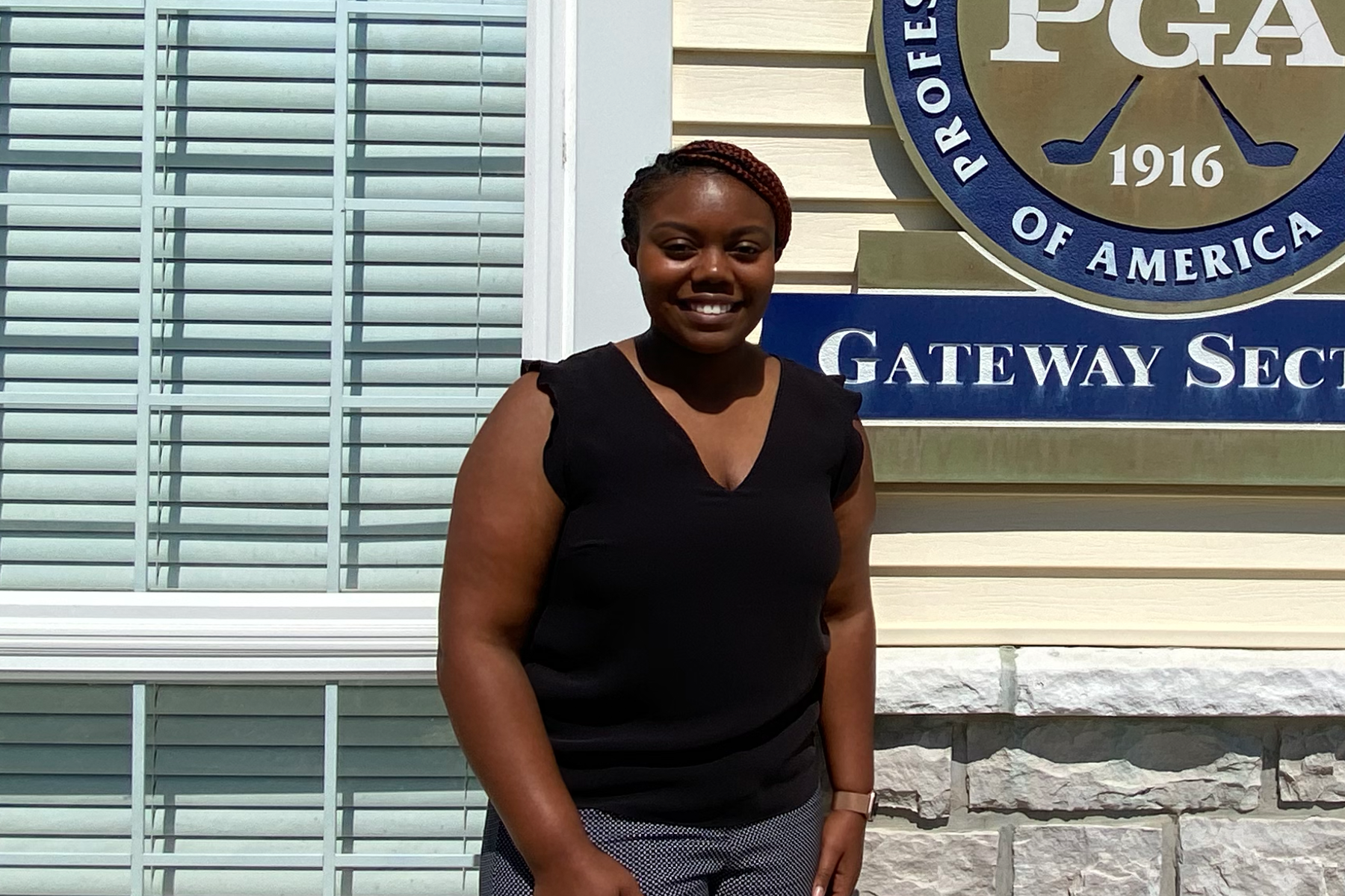 2020 PGA WORKS Fellow Cameron Dinkins Discovered a Path to the Golf Industry