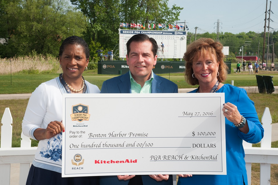 PGA of America Donates $100,000 to Benton Harbor Promise