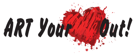 Art Your Heart Out Creations and Classes Logo, Myrtle Beach, SC