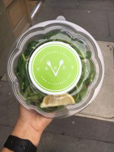 Image of verde salad