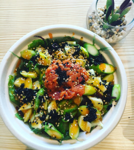 Image of a poke bowl
