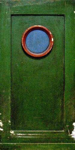 Parrish panel with circular motif