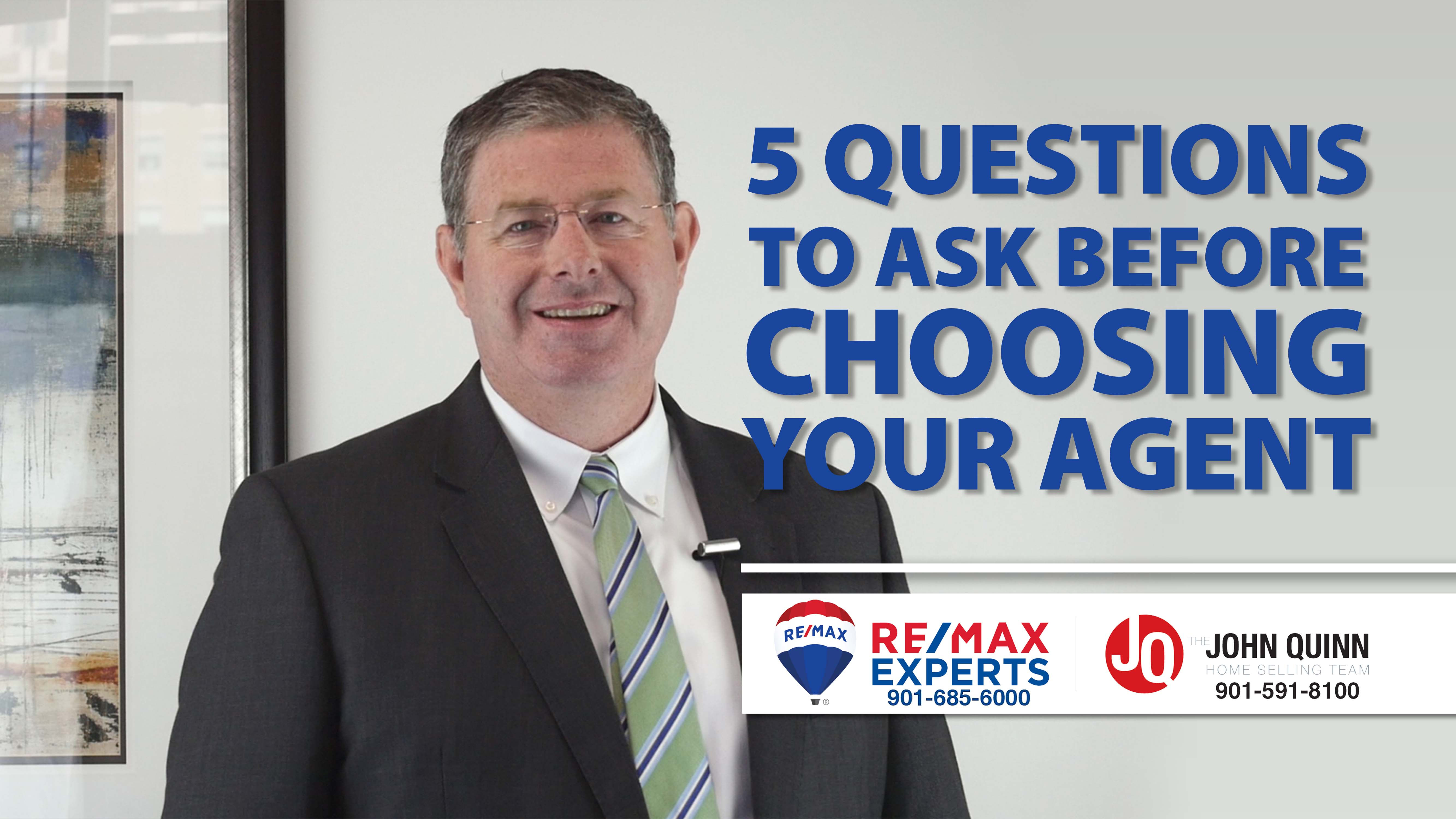 5 Questions You Should Ask Your Real Estate Agent