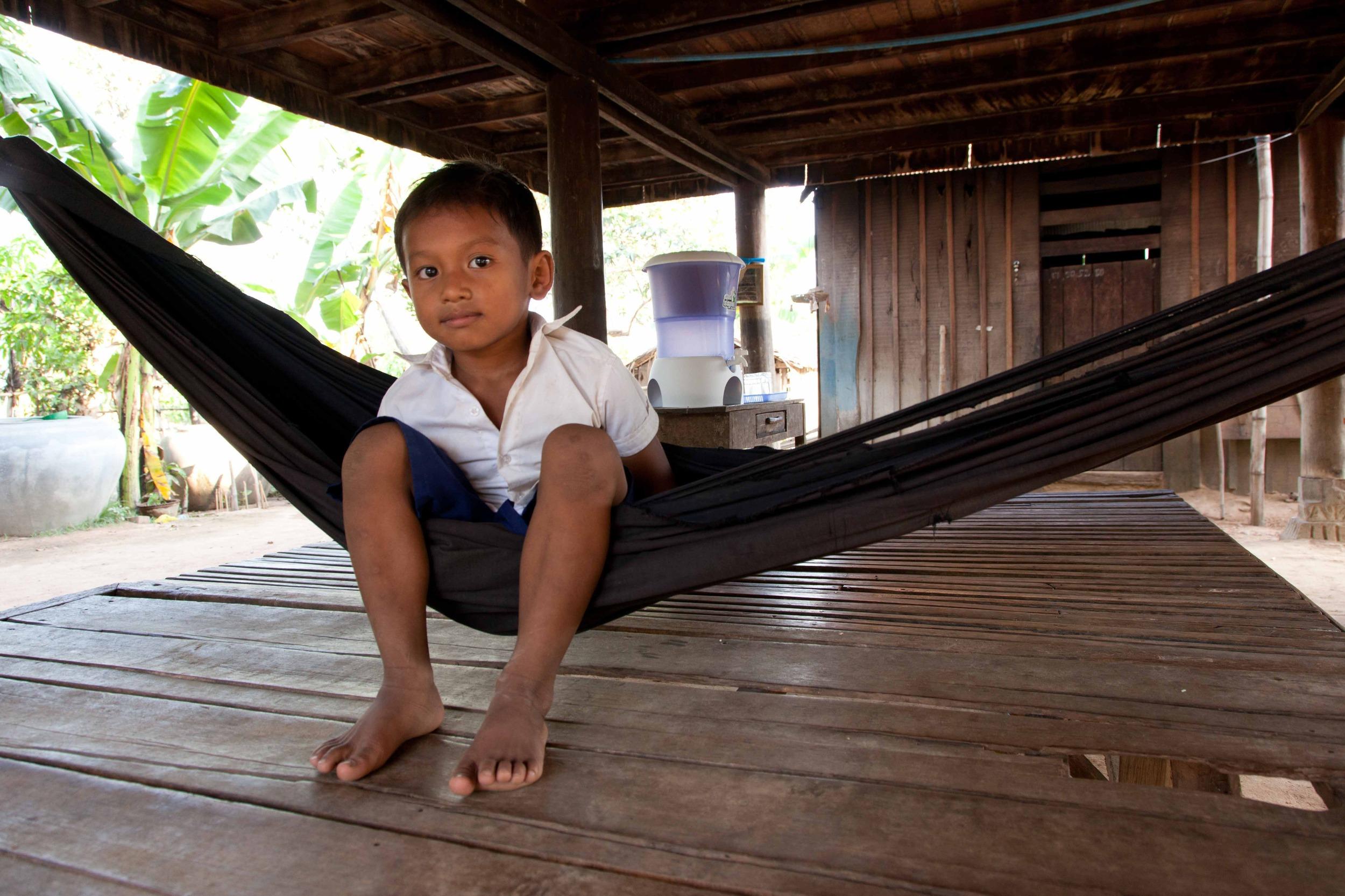 Banner Klimaschutzprojekt in Kambodscha CO2 Ausgleich