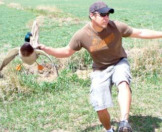 Mallard Duck and Bobby Blake