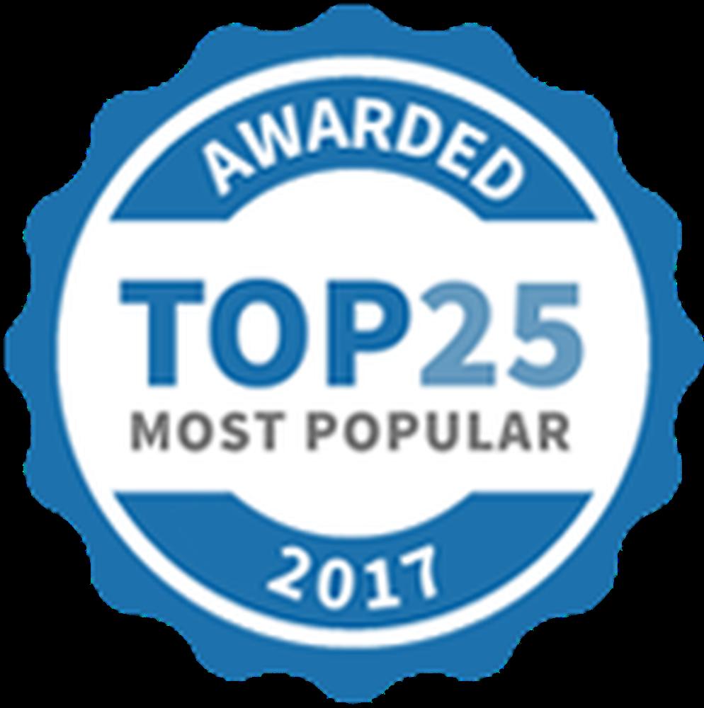 Top 25 Activities Award