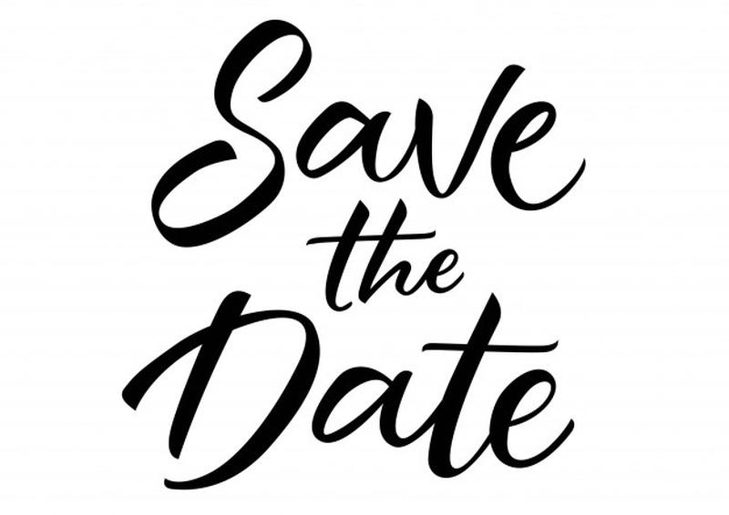Calendar Dates to Save