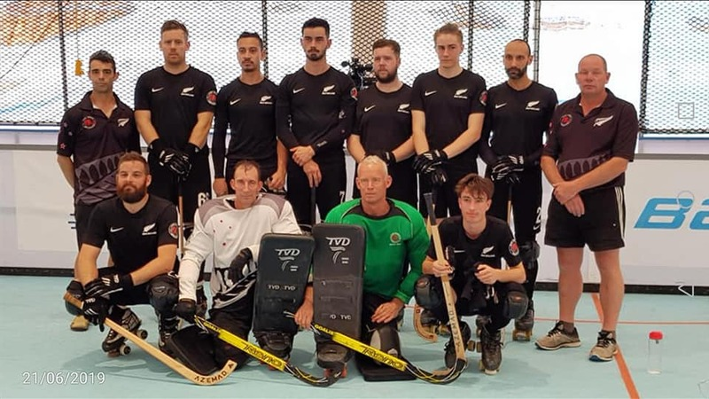 NZ Rink Hockey team head to Barcelona