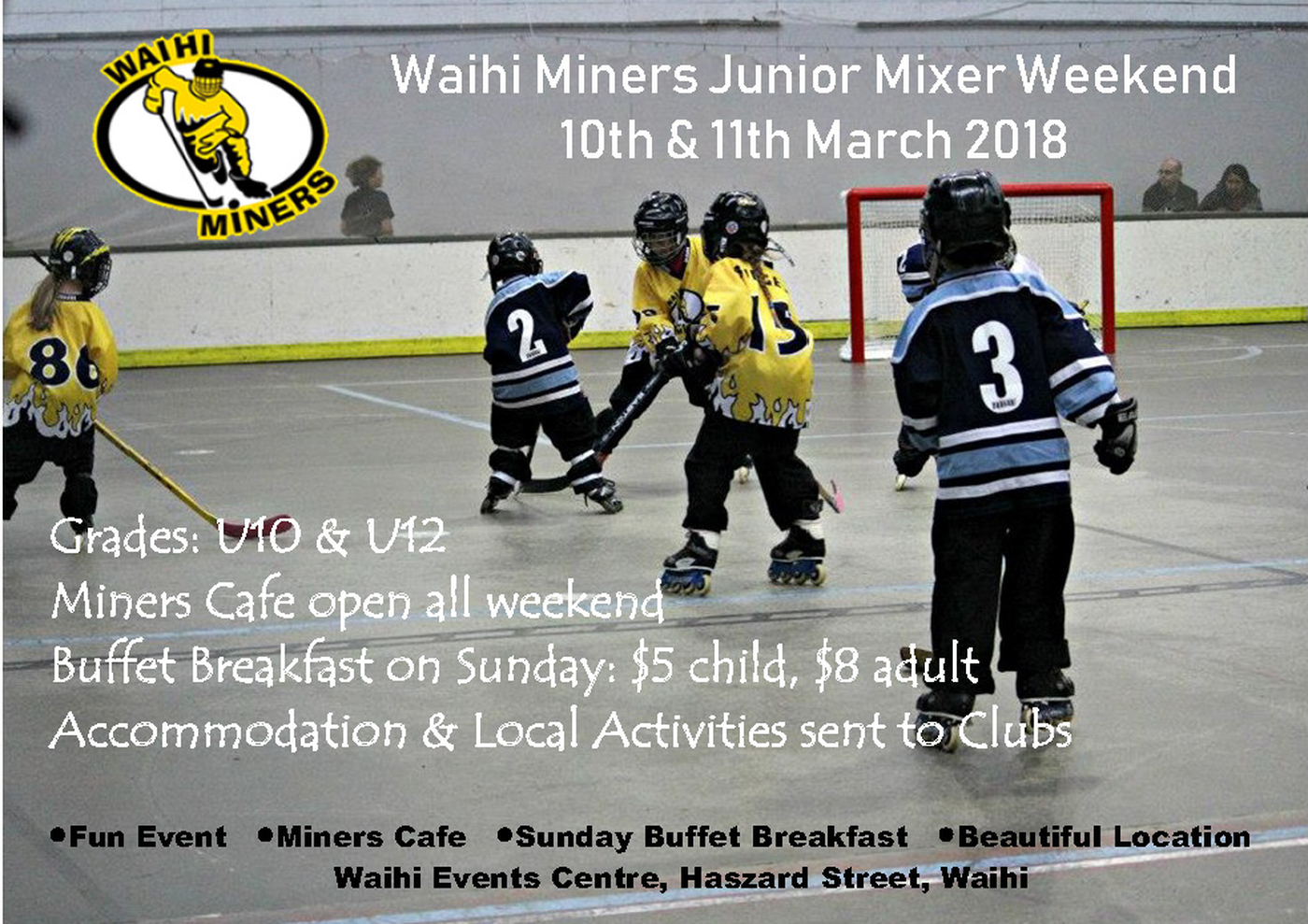 Waihi Mixer Weekend
