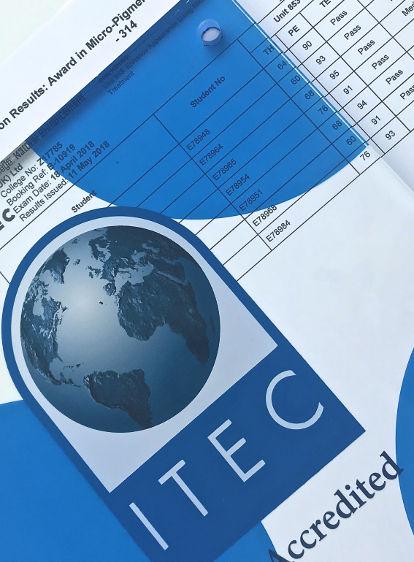 ITEC Level 4 Micropigmentation Qualification
