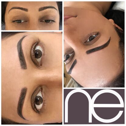 Natural Enhancement Semi Permanent Makeup Removal And Correction Before And After