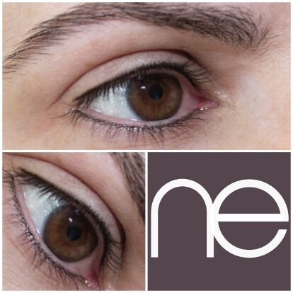 Natural Enhancement Semi Permanent Eyebrows Before And After