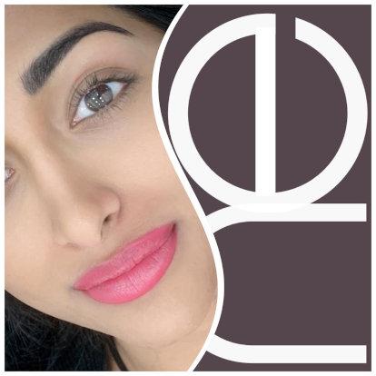 Semi permanent lip liner