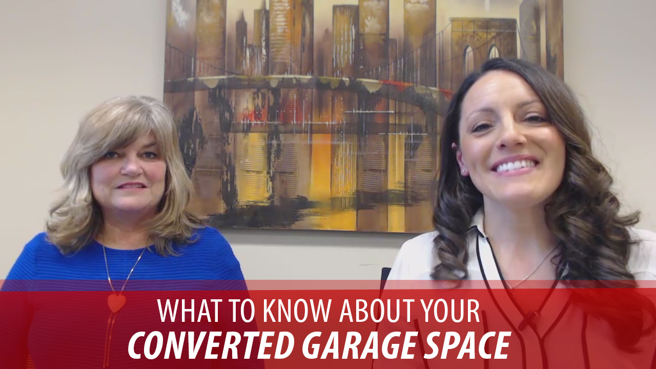 Key Points About a Converted Garage Space: With Lori Allison