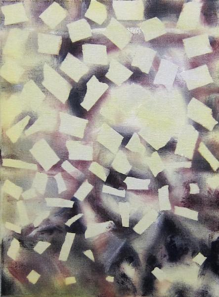 Fragmented portrait