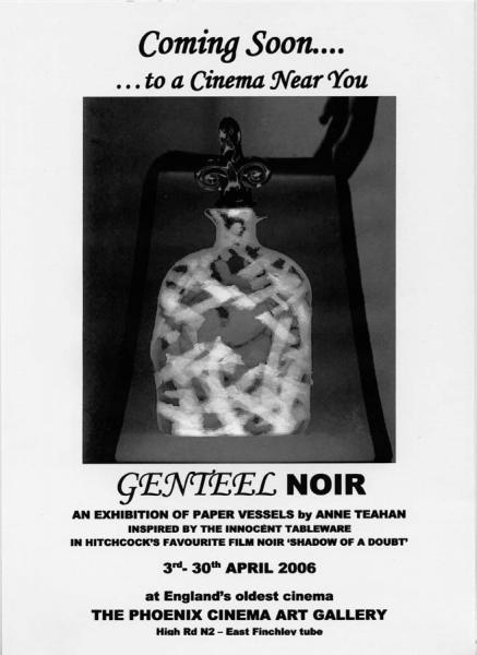 'Genteel Noir' poster