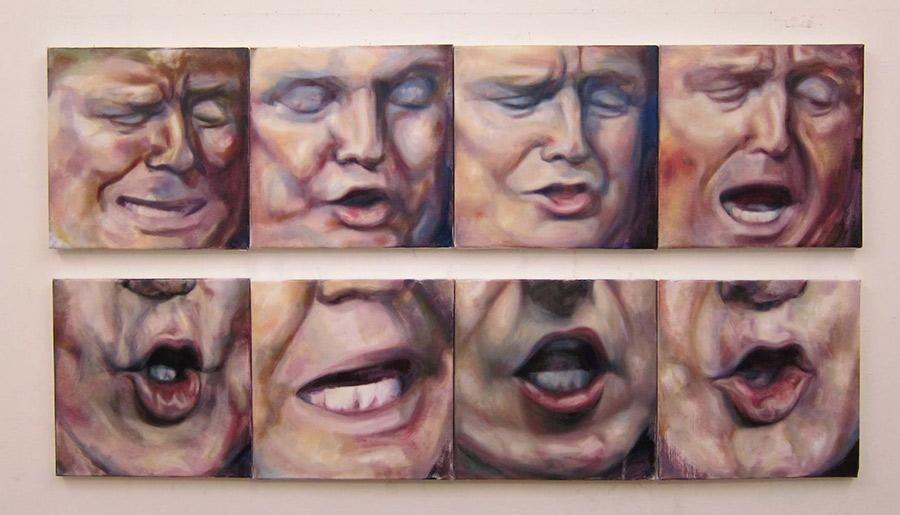 Trump Faces, Trump Mouths