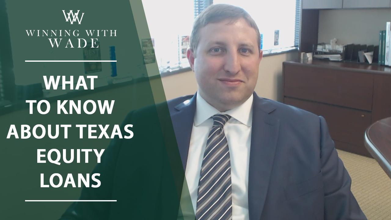 Texas-Specific Equity Loan Rules