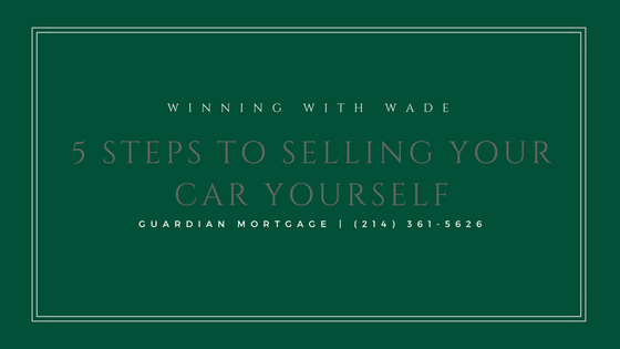 5 Steps to Selling Your Car Yourself