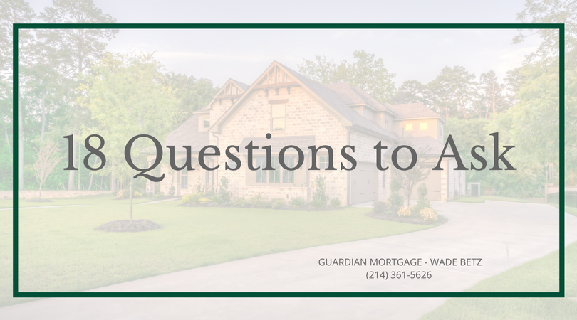 18 Questions to Ask when Shopping for a Real Estate Agent