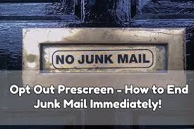 """How to Get Rid of """"You Are Pre-Approved"""" Phone Calls & Junk Mail Using Pre-Screened Opt Out!"""