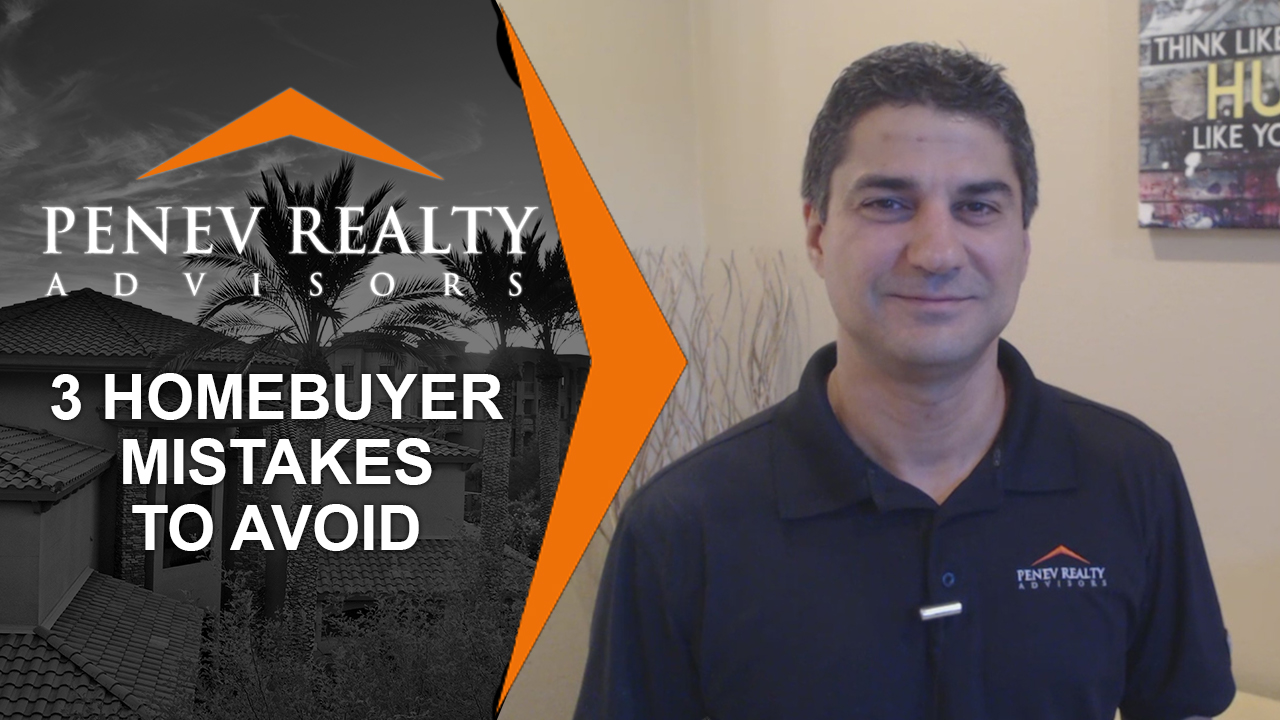 Don't Make These 3 Major Mistakes When Buying a Home