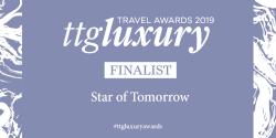 Star of tomorrow finalist award