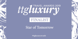 Star of tomorrow finalist award