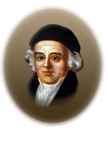 Portrait of Samuel Hahnemann