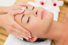 Facial reflexology and facelift massage