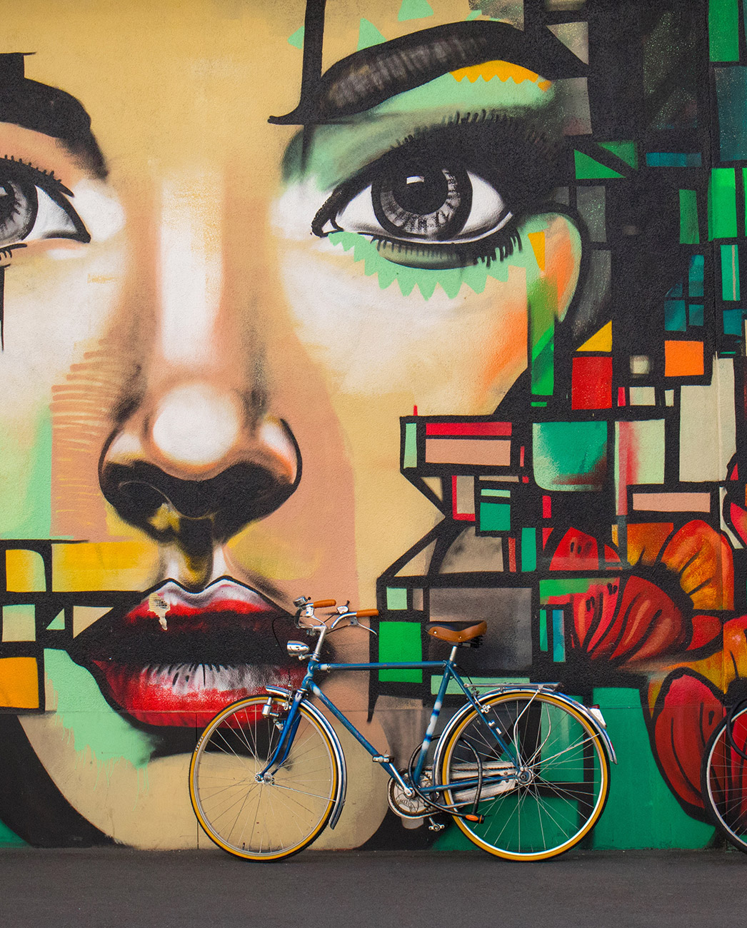 Bike Mural