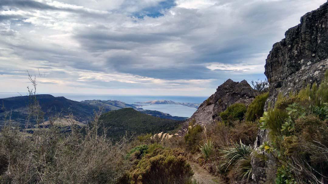 Path near the summit