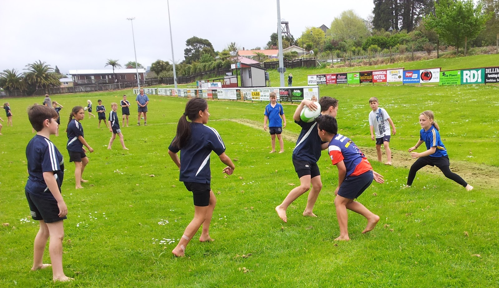 Touch Rugby - Waihi / Waihi Beach Primary Schools (19.10.16)