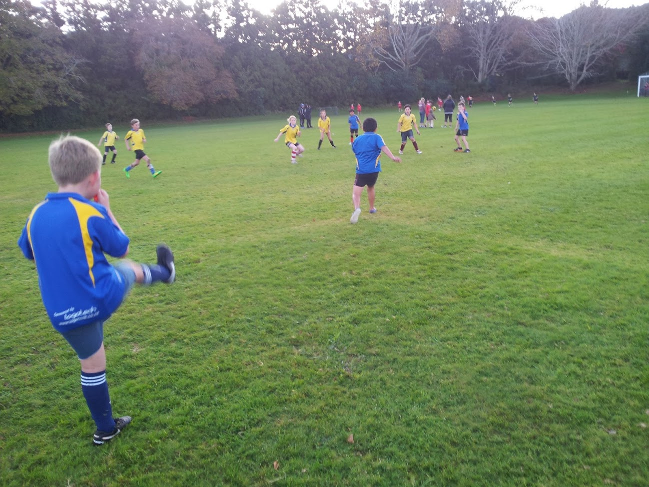 Year 5-6 Soccer at Waihi College (3.06.16)