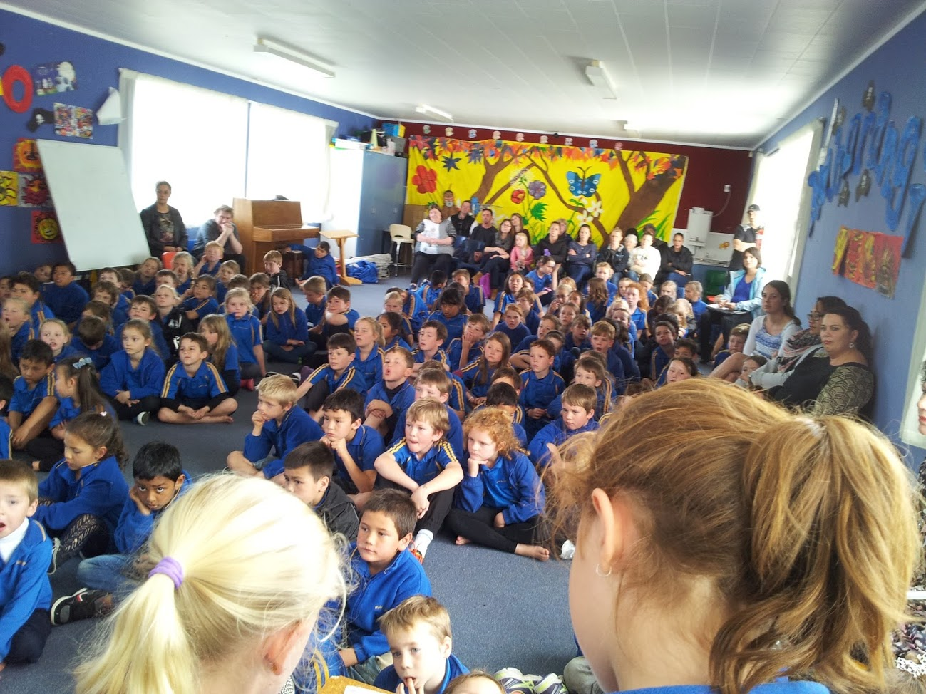 Room 1, 5 and 7's Celebration Assembly (15.09.16)