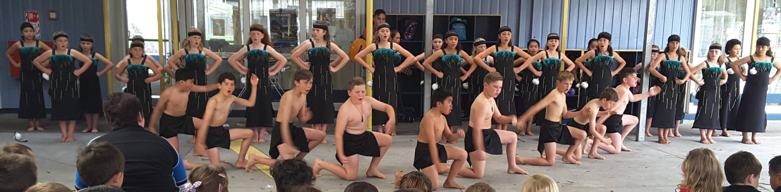Kapahaka Group Prepares as Term Four Starts