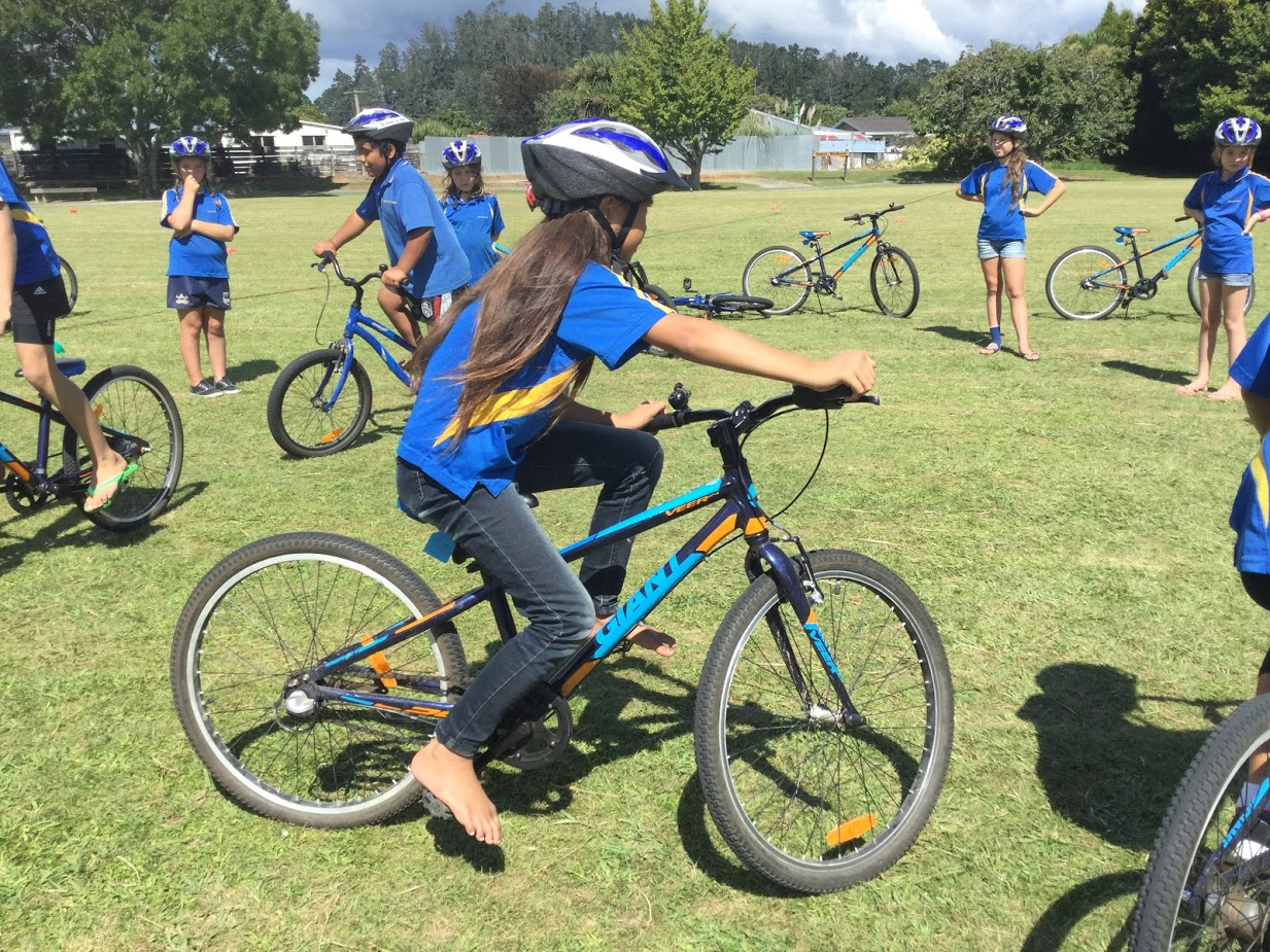 Bike Skills at East School