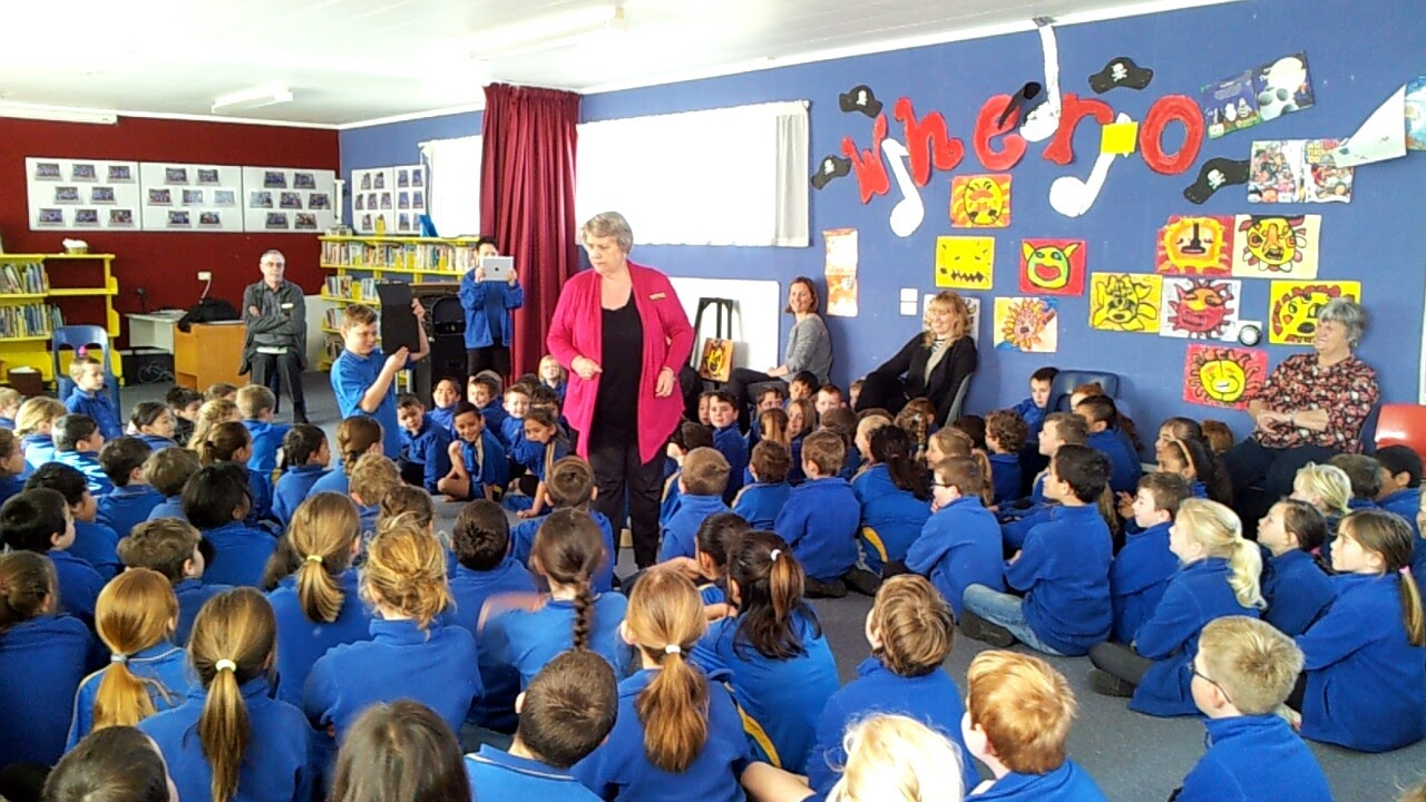 Judi Billcliff Talks Writing at East School