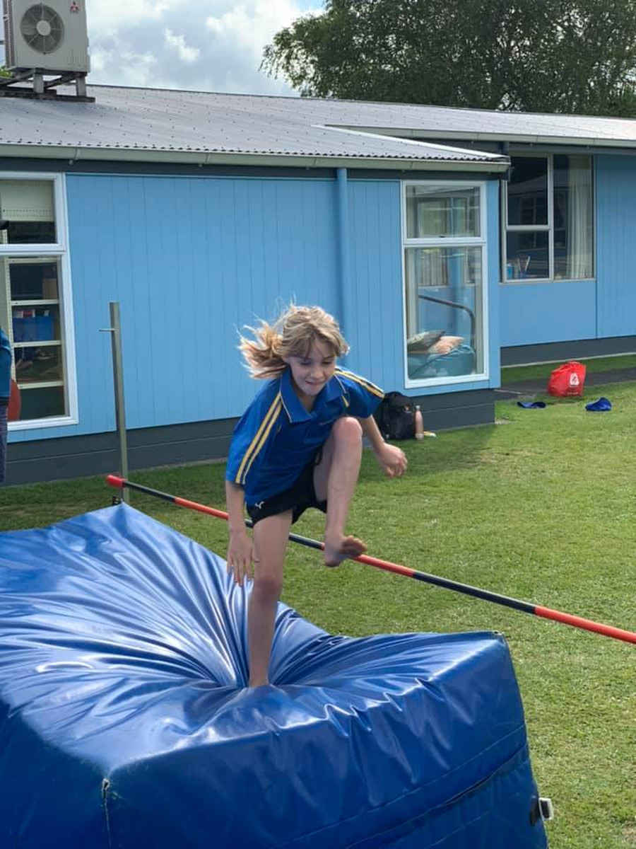 Waihi East School Athletics results