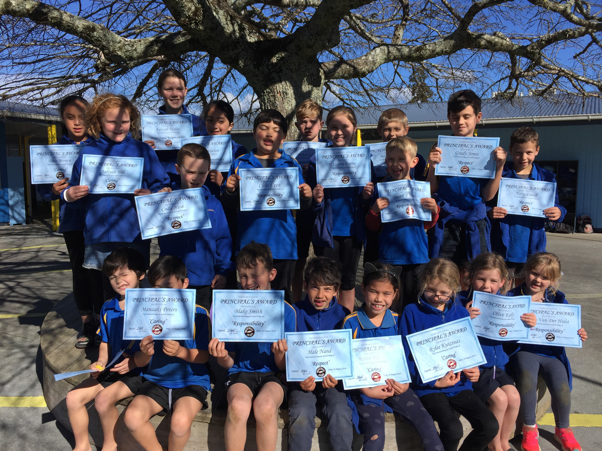 Term 3 2018(week 5) Principal's Awards