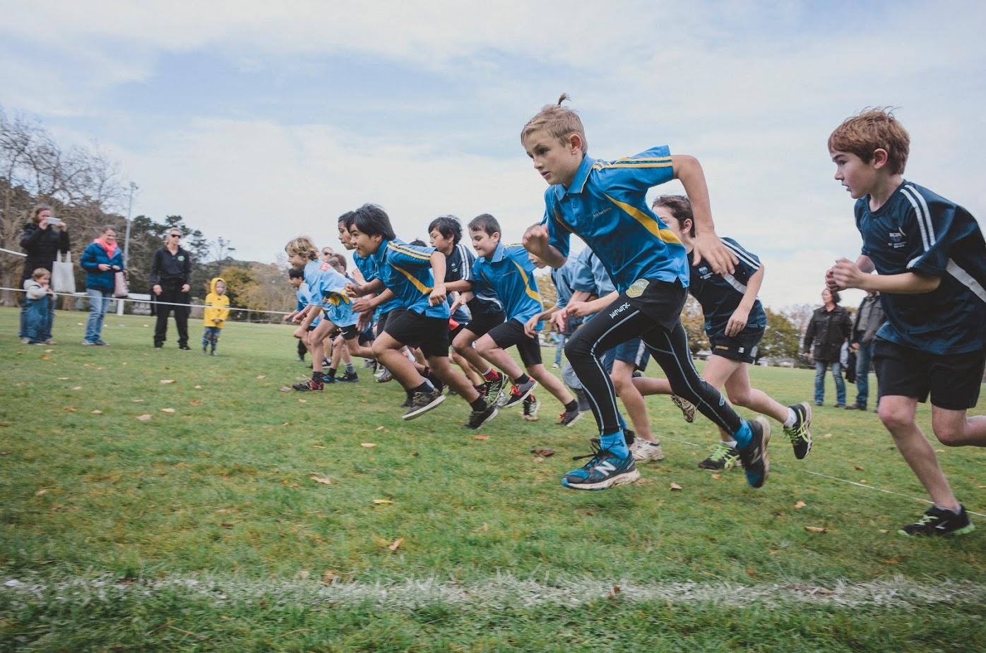 Waihi/Waihi Beach District Schools' Cross Country 2016