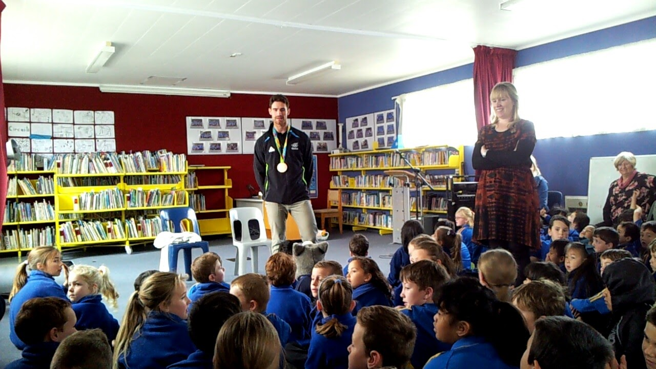 RIO Sailing Olympian Visits East School