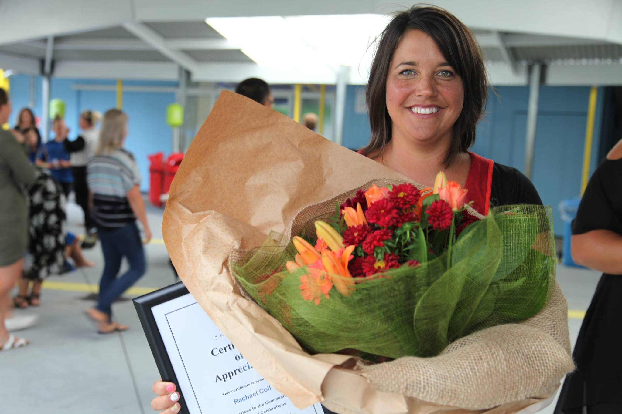 Congratulations Mrs Coll