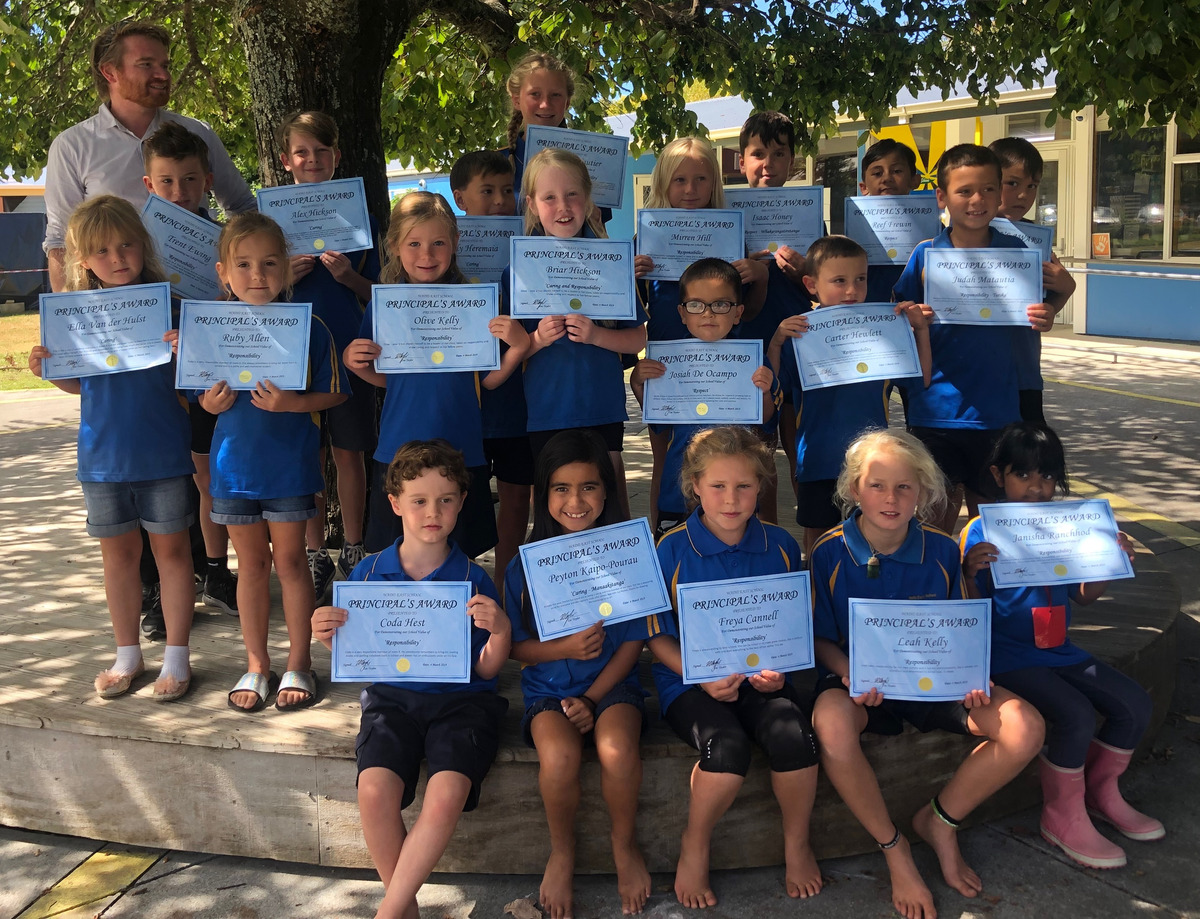 Principal's Awards  Term 1 2019 week 5