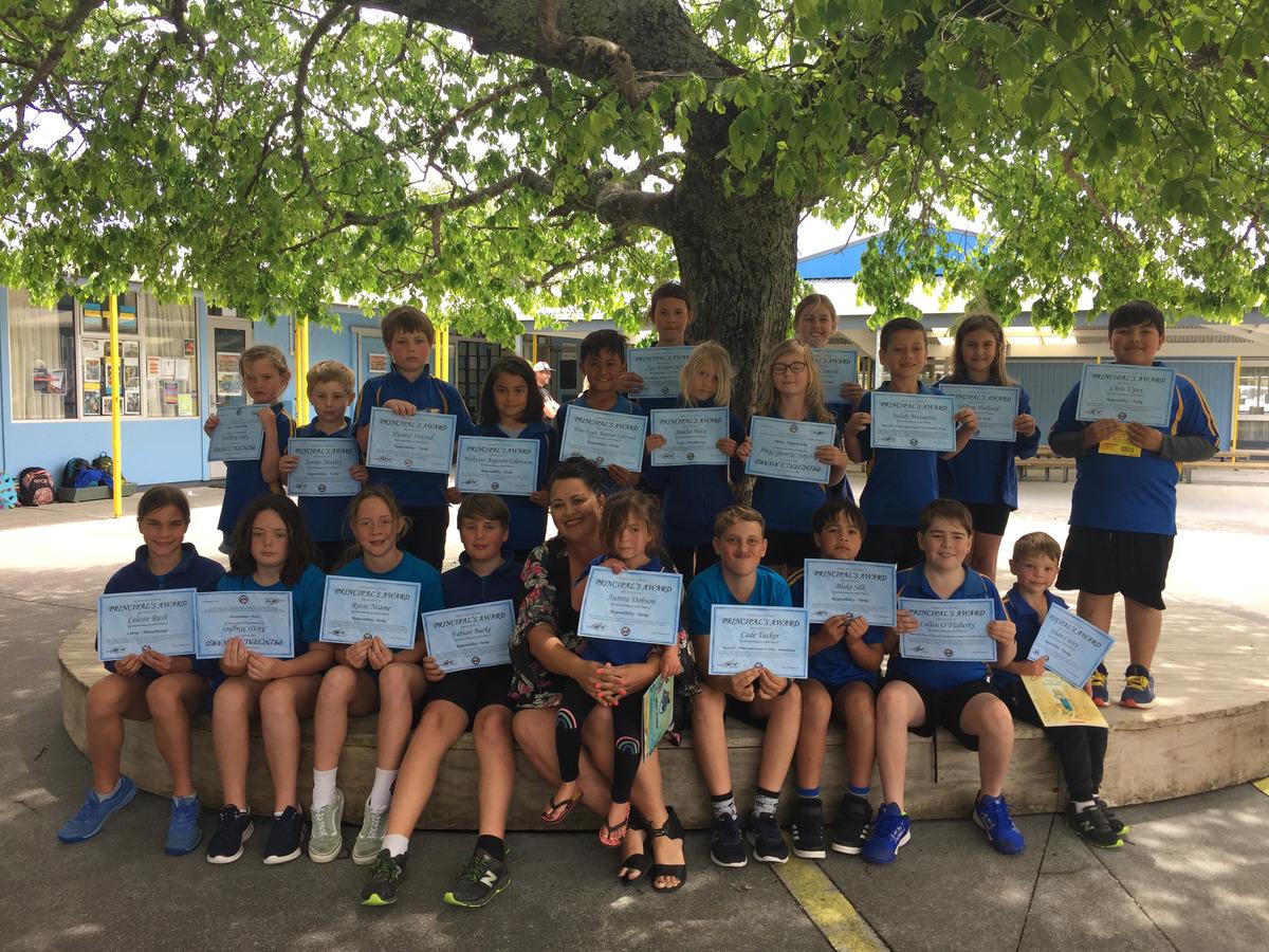 Principal's Awards Term 4 (Week 5)