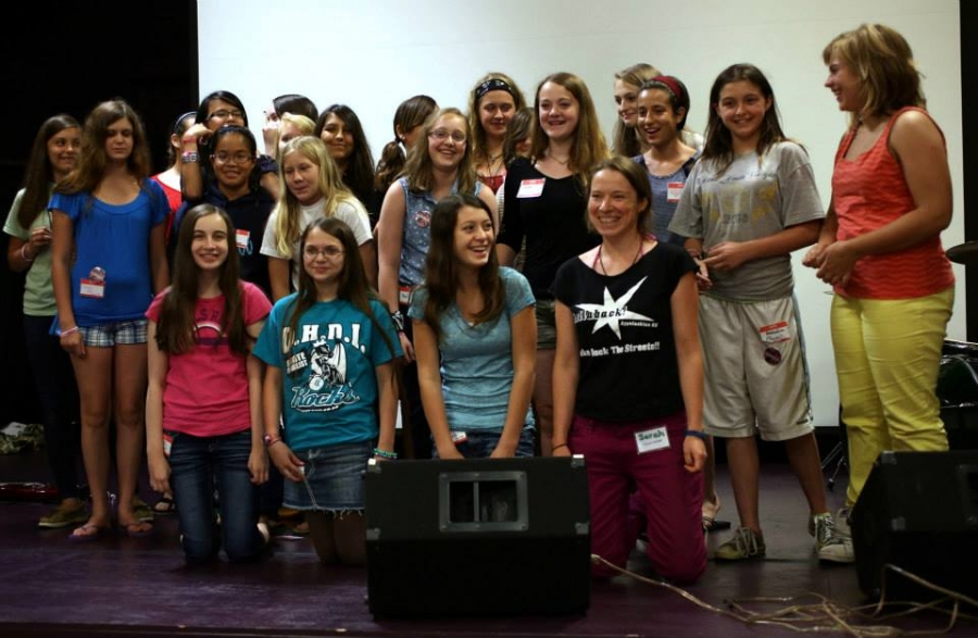 Athens Rock Camp for Girls 2013